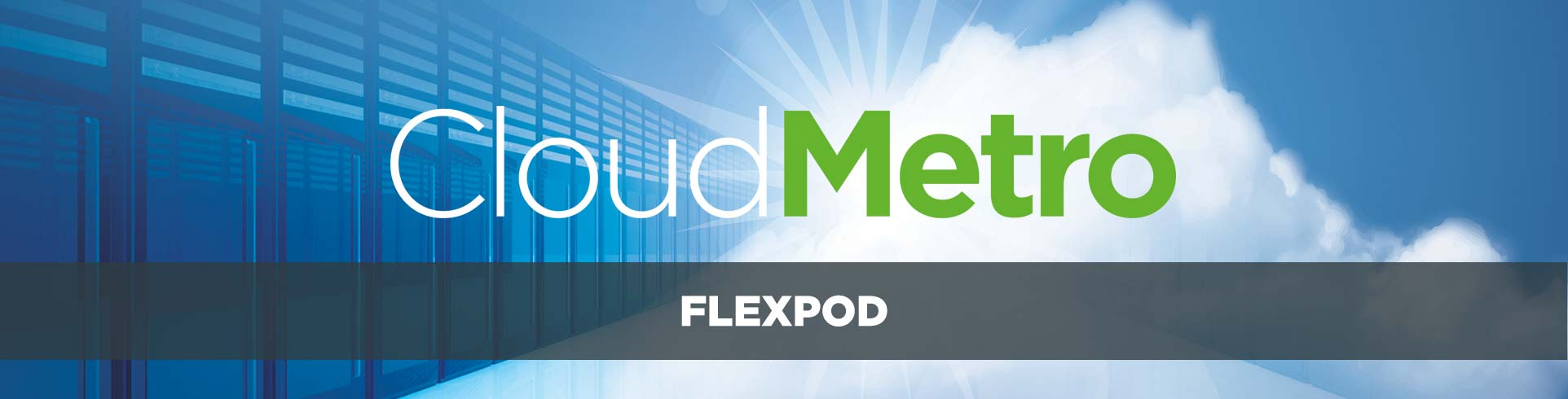 FlexPod is a proven, flexible converged cloud infrastructure stack designed to bring agility to businesses across industries.
